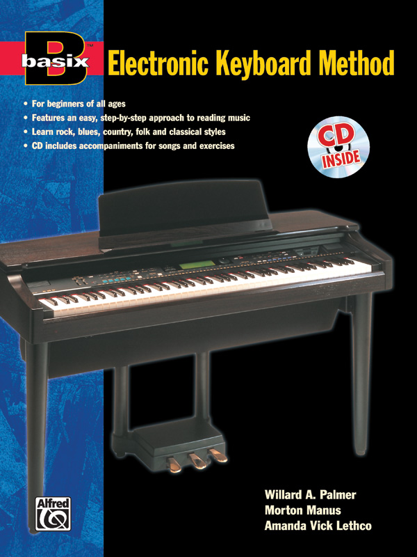 BASIX ELECTRONIC KEYBOARD METHOD PALMUS MANUS LETHCO BKCD