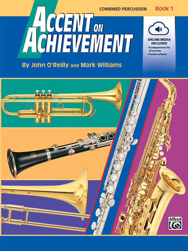 Accent on Achievement Book 1 for Combined Percussion