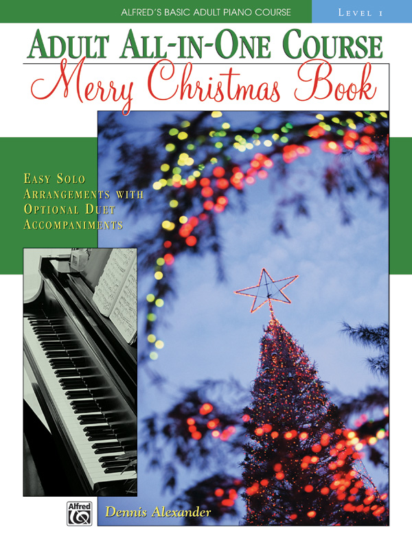 Alfred's Basic Adult All-in-One Course: Merry Christmas Book, Level 1