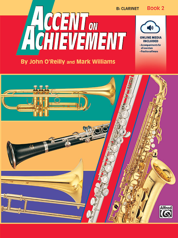 ACCENT ON ACHIEVEMENT 2 CLARINET Bb OREILLY WILLIAMS BKCDE