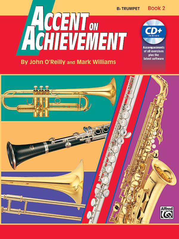 ACCENT ON ACHIEVEMENT 2 TRUMPET Bb OREILLY WILLIAMS BKCDE