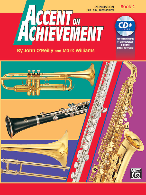 ACCENT ON ACHIEVEMENT 2 PERCUSSION ( SNARE DRUM / BASS DRUM