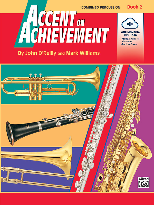 ACCENT ON ACHIEVEMENT 2 PERCUSSION COMBINED OREILLY WILLIAMS