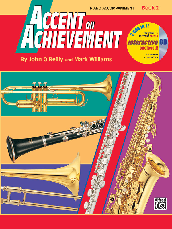 ACCENT ON ACHIEVEMENT 2 PIANO ACCOMPANIMENT OREILLY WILLIAMS