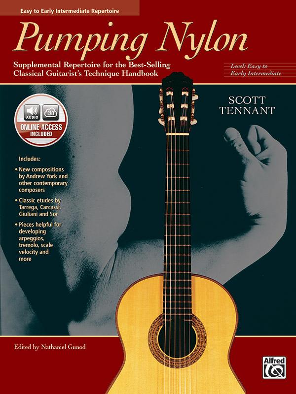 PUMPING NYLON EASY TO EARLY INTERMEDIATE REPERTOIRE TENNANT (18409 ) (Guitar Folios )