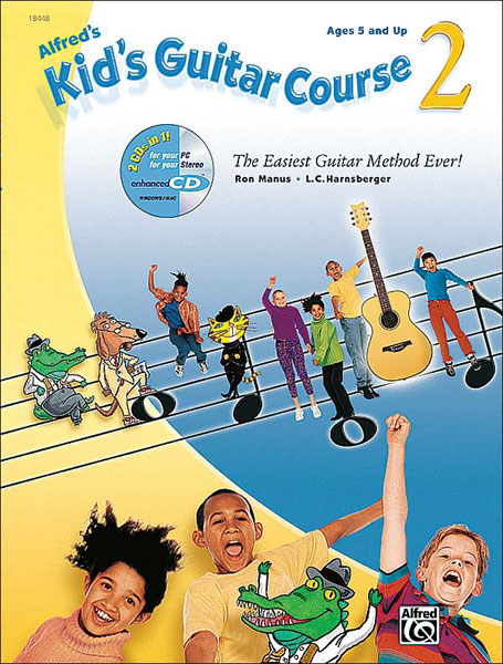Alfred's Kid's Guitar Course Book