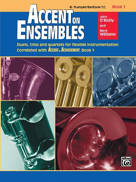 Accent on Ensembles, Book 1 Trumpet