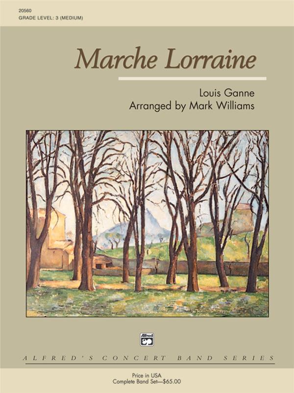 MARCHE LORRAINE GRADE 3 GANNE WILLIAMS