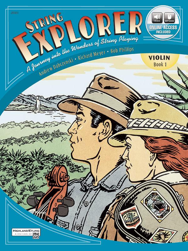 String Explorer, Book 1- Violin