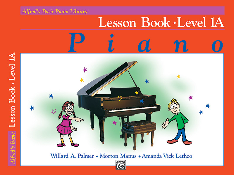 Alfred Basic Piano Library Lesson Book 1A