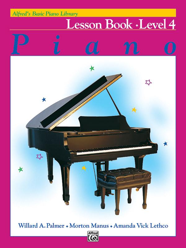 Alfred's Basic Piano Course Lesson Book 4