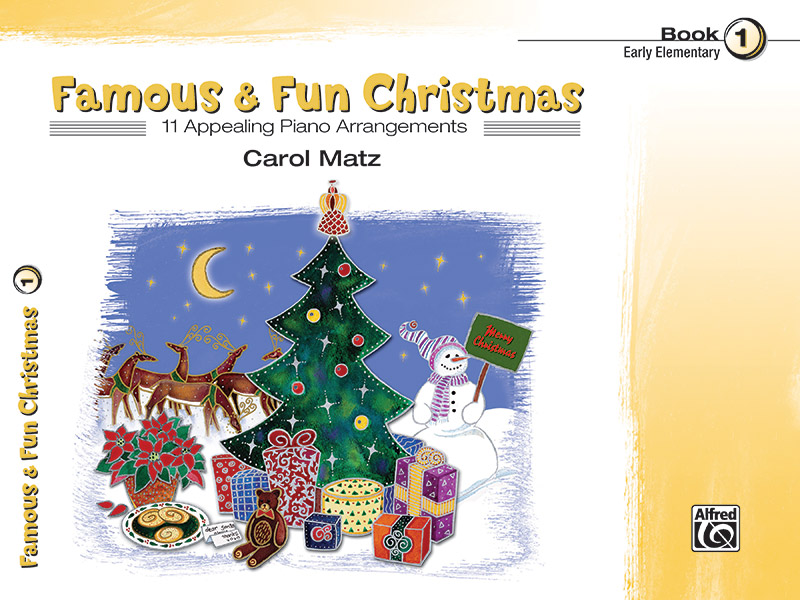 FAMOUS & FUN CHRISTMAS 1 MATZ (22169 ) (Christmas Piano Book )