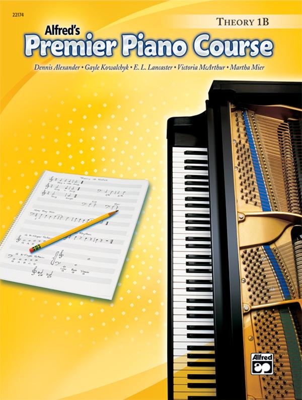 Premier Piano Course, Theory 1B