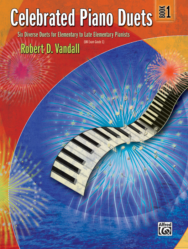 CELEBRATED PIANO DUETS 1 VANDALL FED20 (22531 ) (Piano Duet Books )