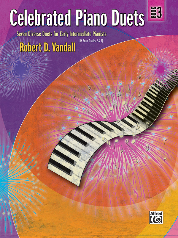 CELEBRATED PIANO DUETS 3 VANDALL FED20 FED13 (22533 ) (Piano Duet Books )