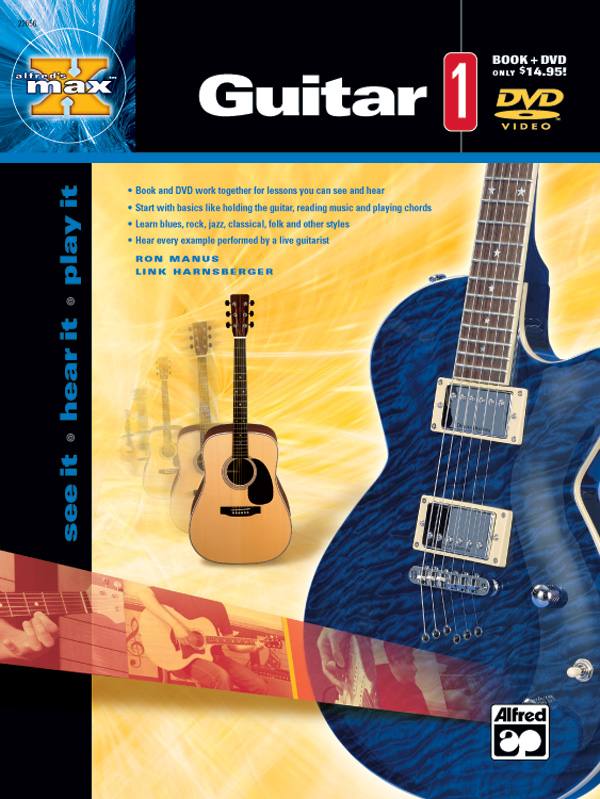Alfred's MAX Guitar 1 - DVD Included