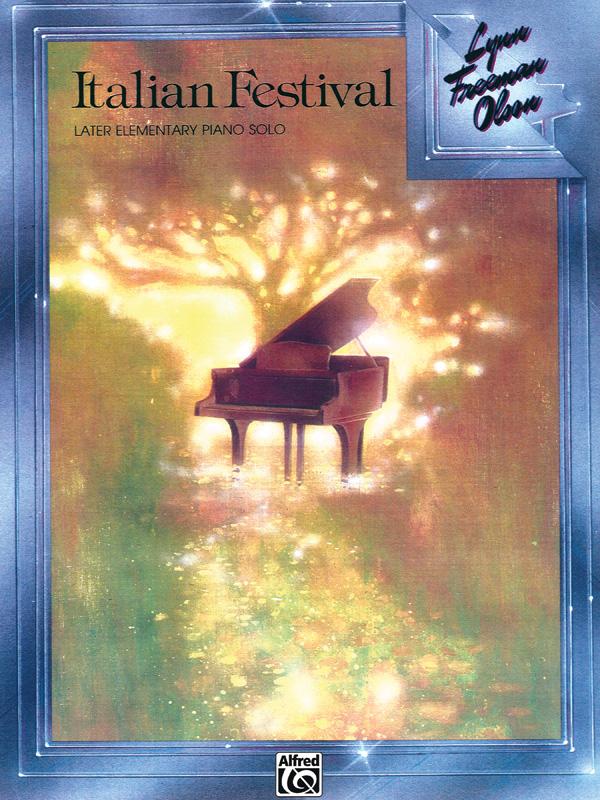ITALIAN FESTIVAL LATER ELEMENTARY PIANO SOLO
