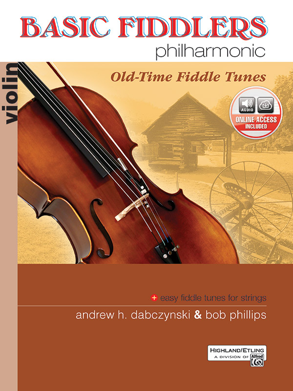 BASIC FIDDLERS PHILHARMONIC OLD TIME FIDDLE TUNES VIOLIN DAB