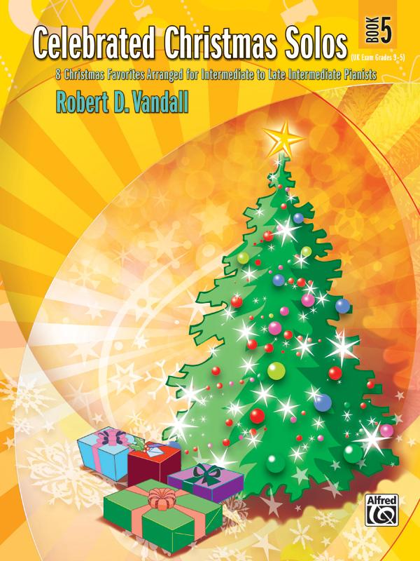 CELEBRATED CHRISTMAS SOLOS 5 VANDALL (28394 ) (Christmas Piano Book )