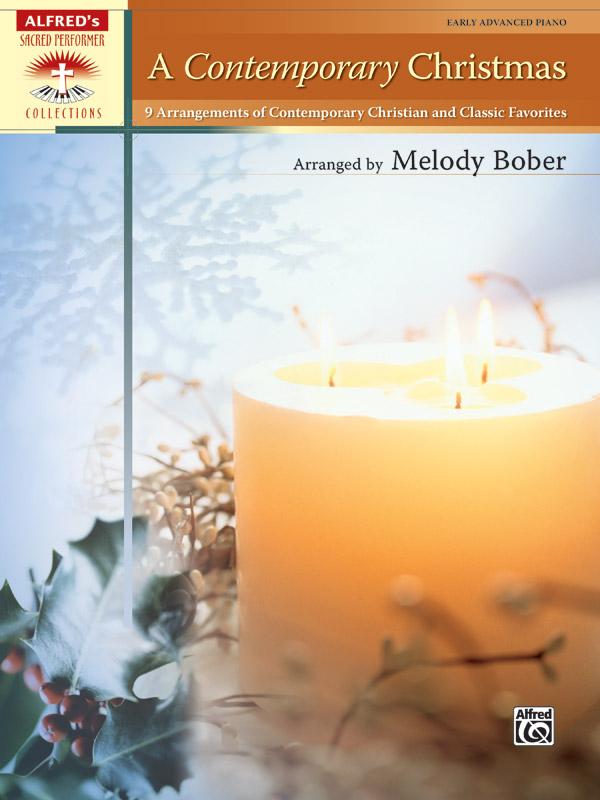 CONTEMPORARY CHRISTMAS EARLY ADVANCED BOBER (30403 ) (Christmas Piano Book )