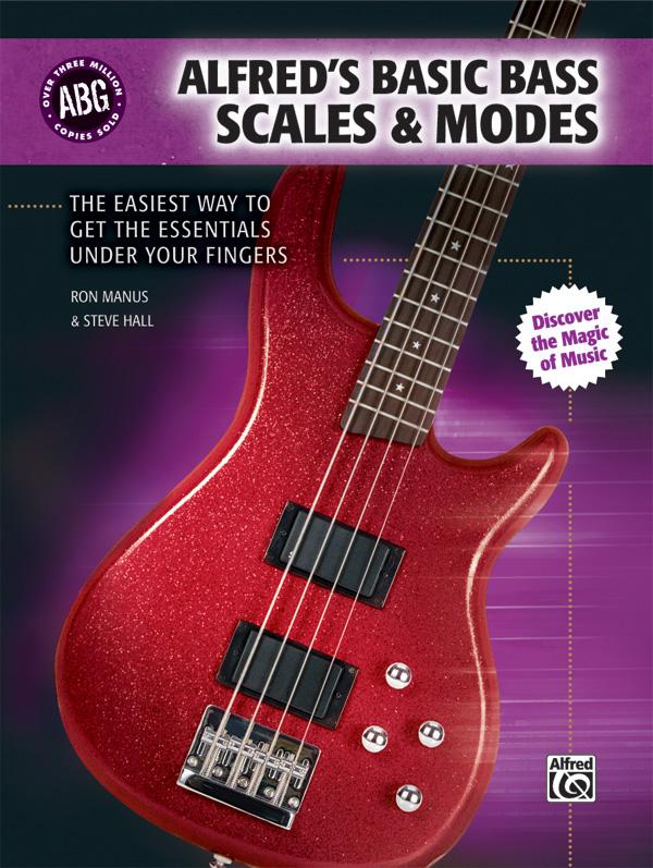 ALFREDS BASIC BASS SCALES & MODES MANUS HALL TAB (31397 )