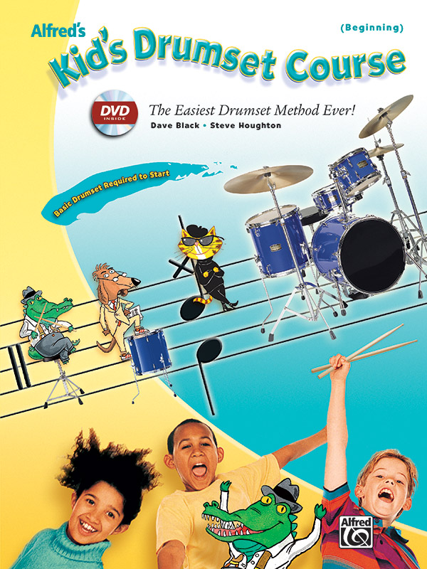Alfred's Kid's Drumset Course (Beginning)
