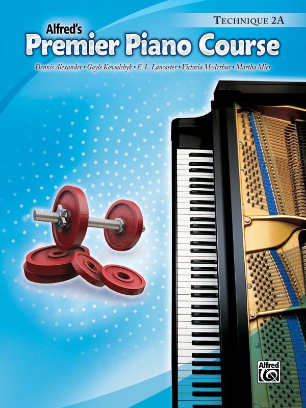 Alfred's Premier Piano Course Technique 2A