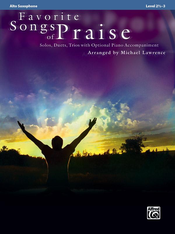 FAVORITE SONGS OF PRAISE LAWRENCE (32733 ) (Sax Alto Sacred )
