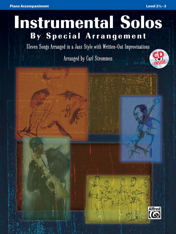 INSTRUMENTAL SOLOS BY SPECIAL ARRANGEMENT STROMMEN BKCD (32860 ) (Piano Accompaniment Books )