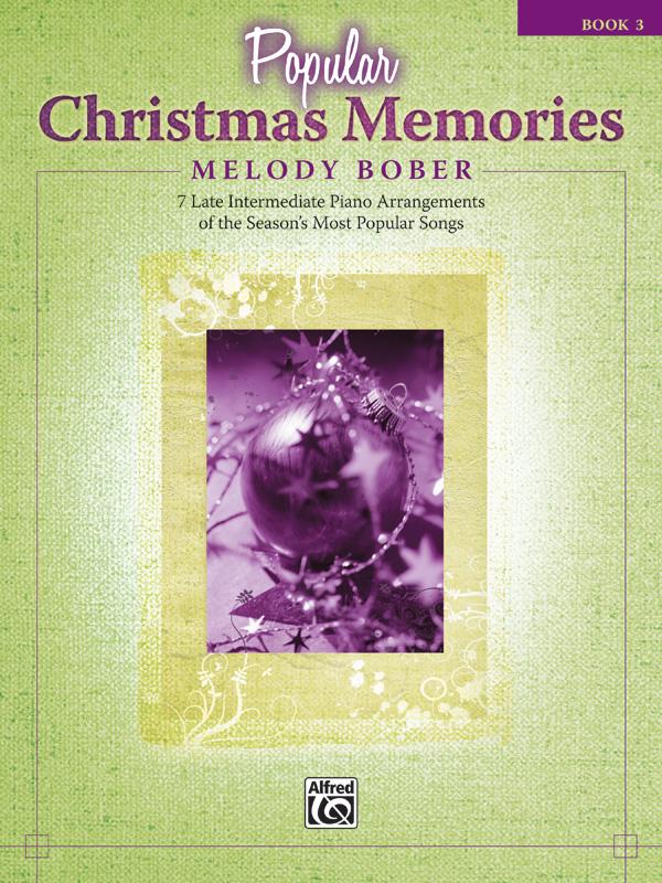 POPULAR CHRISTMAS MEMORIES 3 BOBER (33610 ) (Christmas Piano Book )