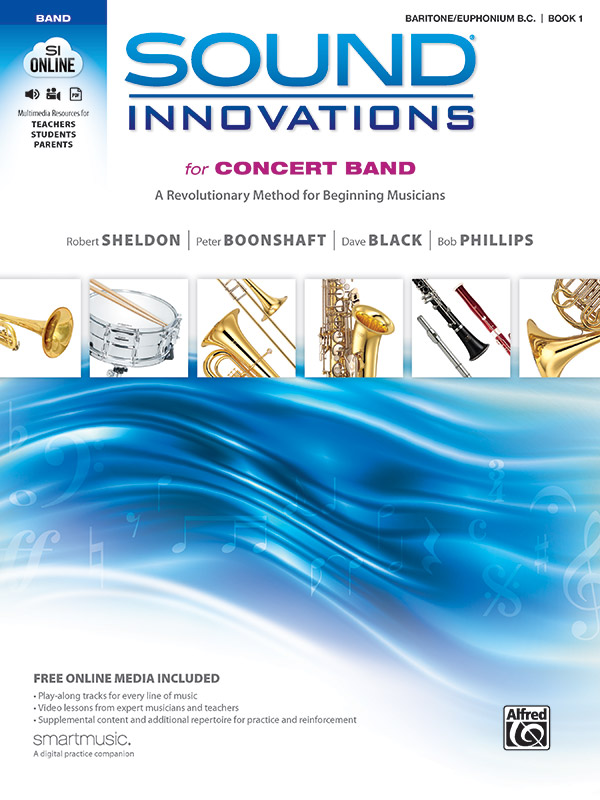 SOUND INNOVATIONS FOR CONCERT BAND 1 BARITONE / EUPHONIUM BC
