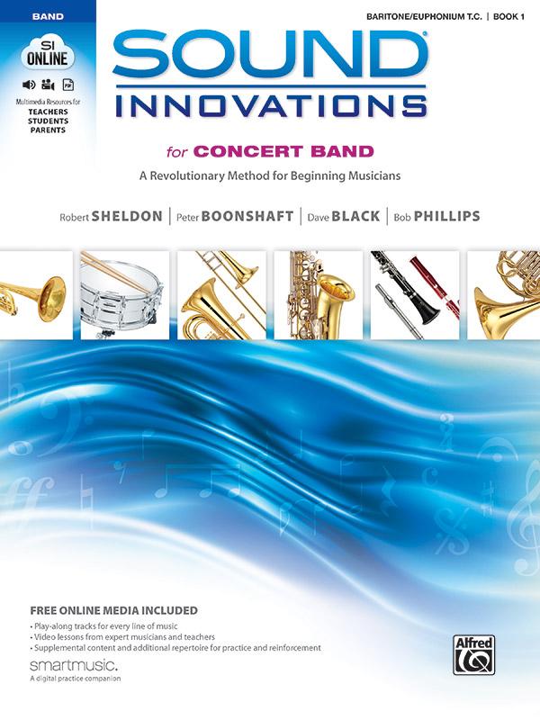 SOUND INNOVATIONS FOR CONCERT BAND 1 BARITONE / EUPHONIUM TC