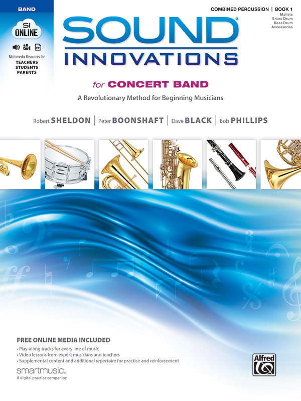 SOUND INNOVATIONS FOR CONCERT BAND 1 COMBINED PERCUSSION SHE