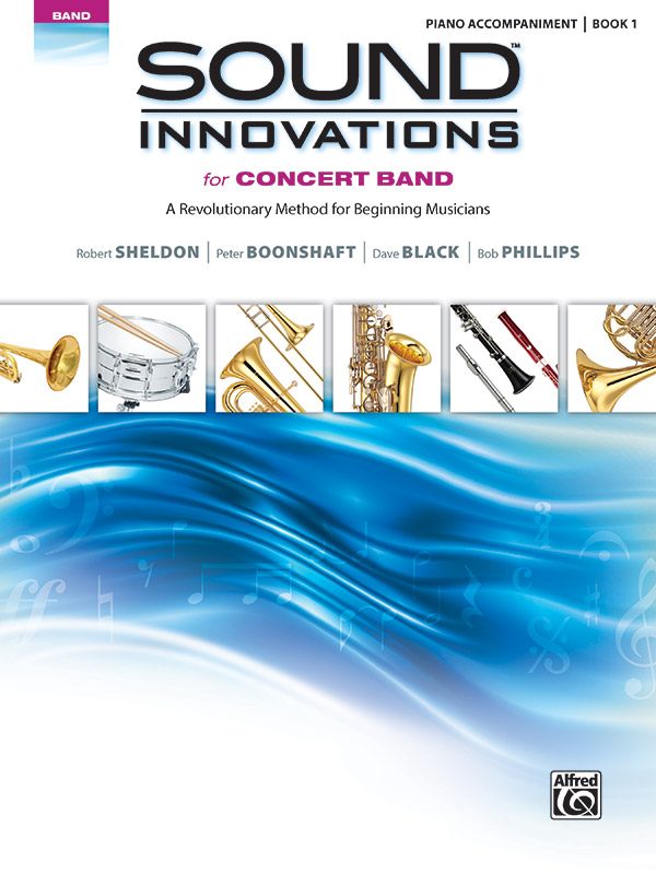 SOUND INNOVATIONS FOR CONCERT BAND 1 PIANO ACCOMPANIMENT SHE