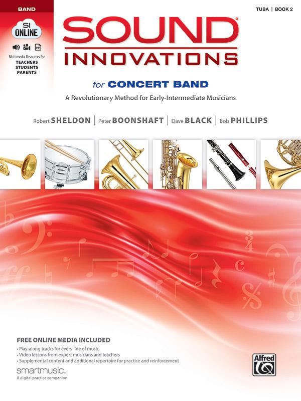 SOUND INNOVATIONS FOR CONCERT BAND 2 TUBA SHELDON BOONSHAFT