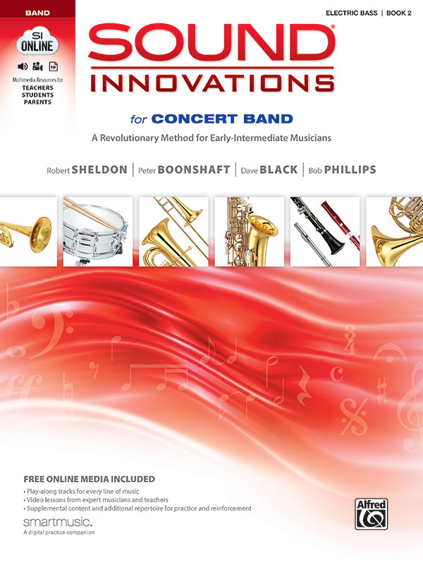 SOUND INNOVATIONS FOR CONCERT BAND 2 ELECTRIC BASS SHELDON B