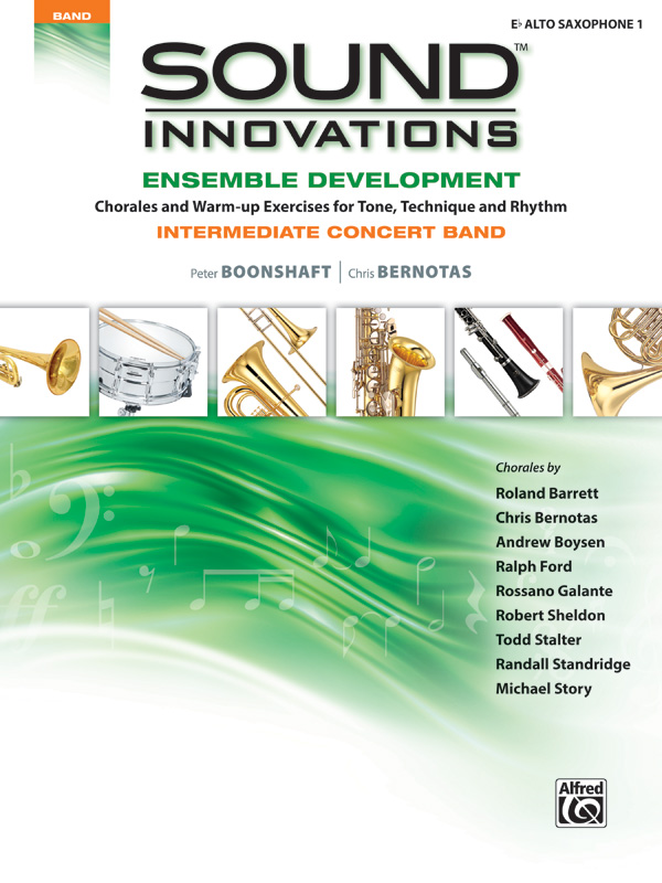 SOUND INNOVATIONS ENSEMBLE DEVELOPMENT INTERMEDIATE SAXOPHON