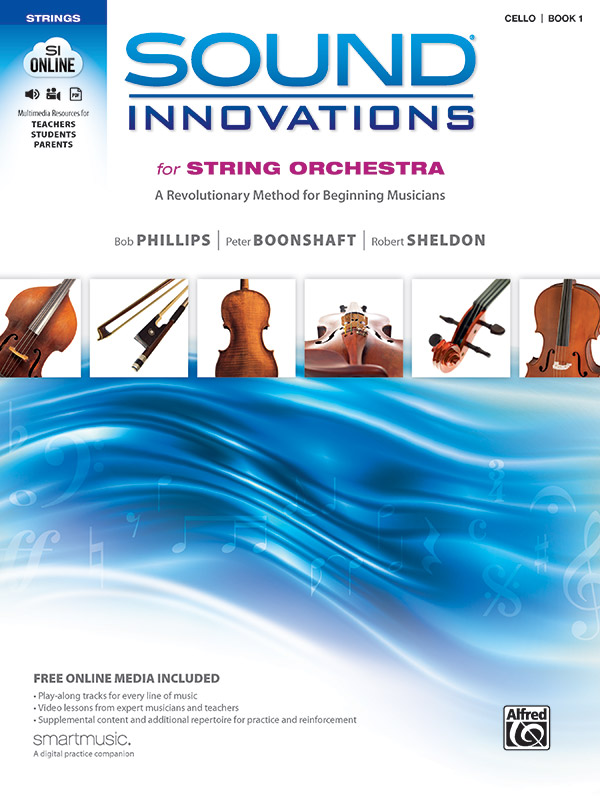 SI FOR STRING ORCH CELLO 1 BK/CD