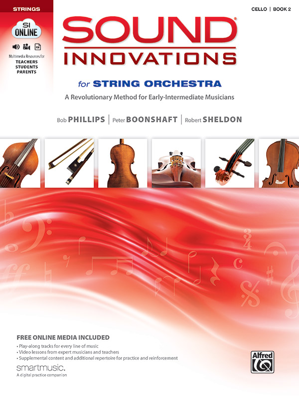 SOUND INNOVATIONS FOR STRING ORCHESTRA 2 CELLO PHILLIPS BOON