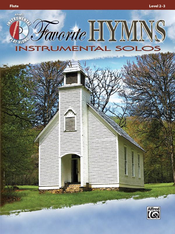 Favorite Hymns Instrumental Solos Book & CD Flute