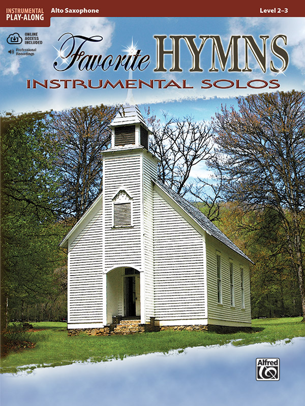 Favorite Hymns Instrumental Solos Book & CD Alto Sax