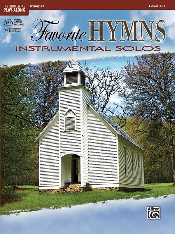 Favorite Hymns Instrumental Solos Book & CD Trumpet