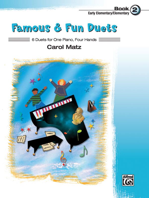 FAMOUS & FUN DUETS 2 MATZ EP FED20 FED16 (37034 ) (Piano Duet Books )
