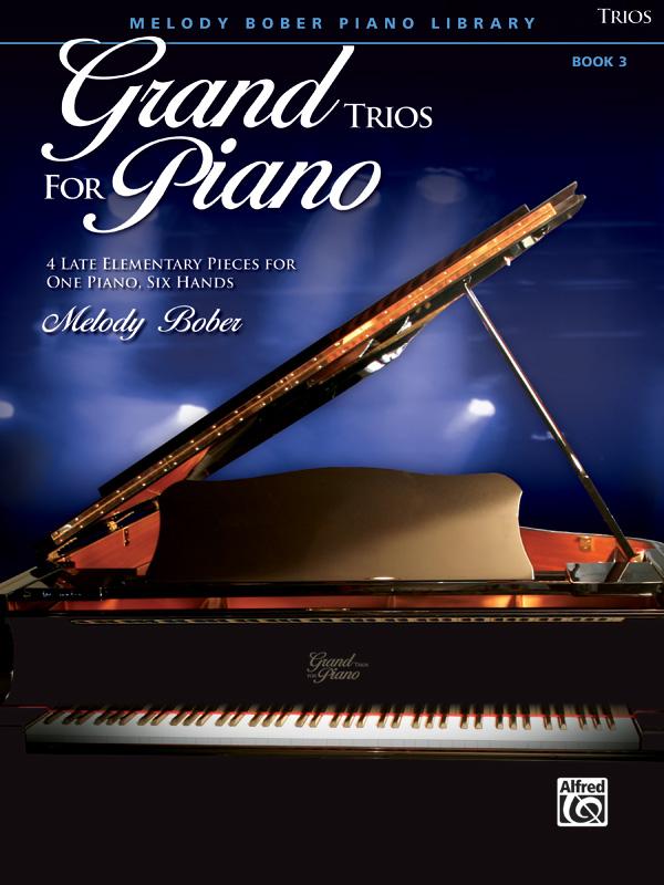 GRAND TRIOS FOR PIANO 3 BOBER FED20 FED16