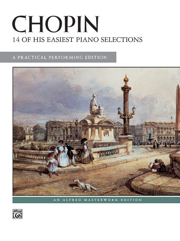 Chopin 14 of His Easiest Piano Selections