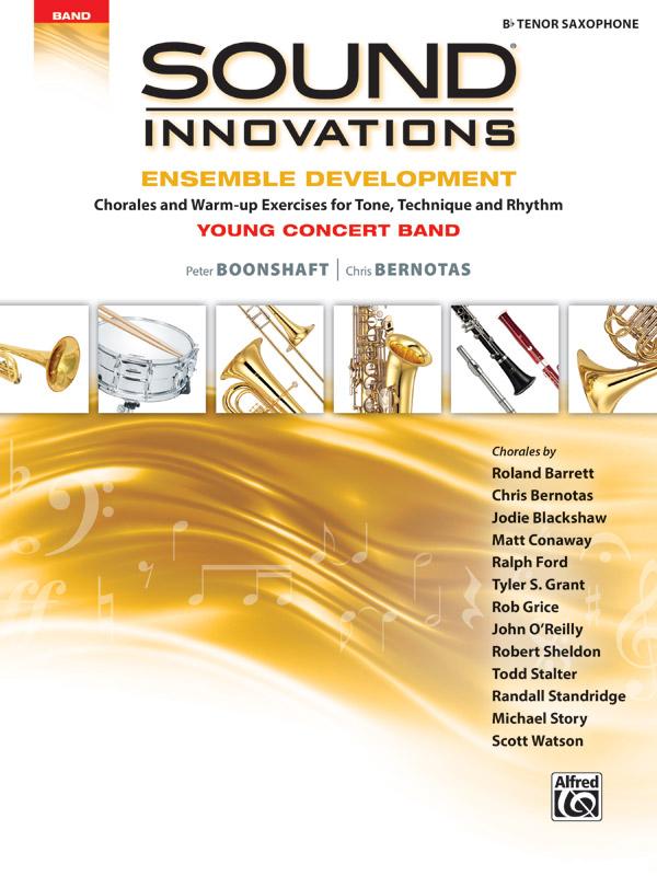 SOUND INNOVATIONS ENSEMBLE DEVELOPMENT YOUNG SAXOPHONE TENOR