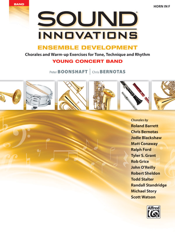 SOUND INNOVATIONS ENSEMBLE DEVELOPMENT YOUNG HORN IN F BOONS
