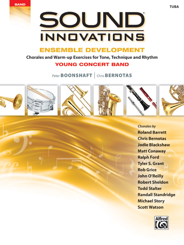 SOUND INNOVATIONS ENSEMBLE DEVELOPMENT YOUNG TUBA BOONSHAFT