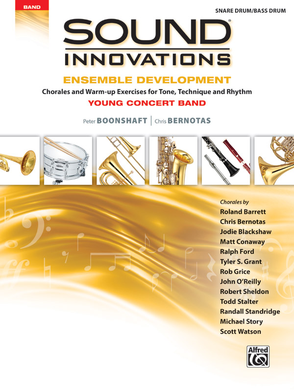 SOUND INNOVATIONS ENSEMBLE DEVELOPMENT YOUNG PERCUSSION SNAR