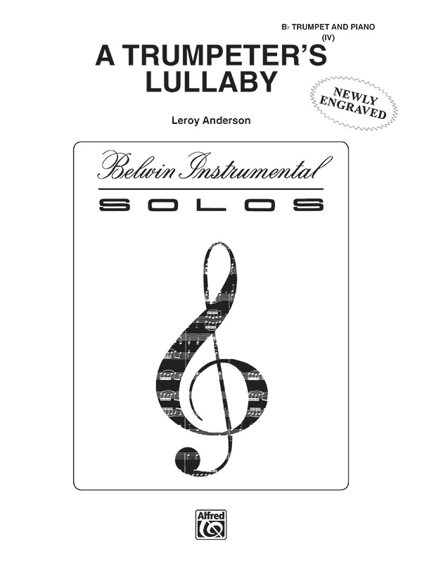 TRUMPETERS LULLABY ANDERSON (41061 ) (Trumpet Solos )